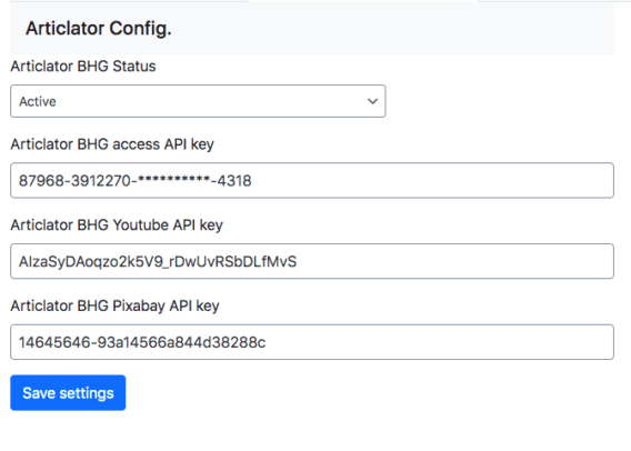 Articlator BHG tool tips for configuration 3